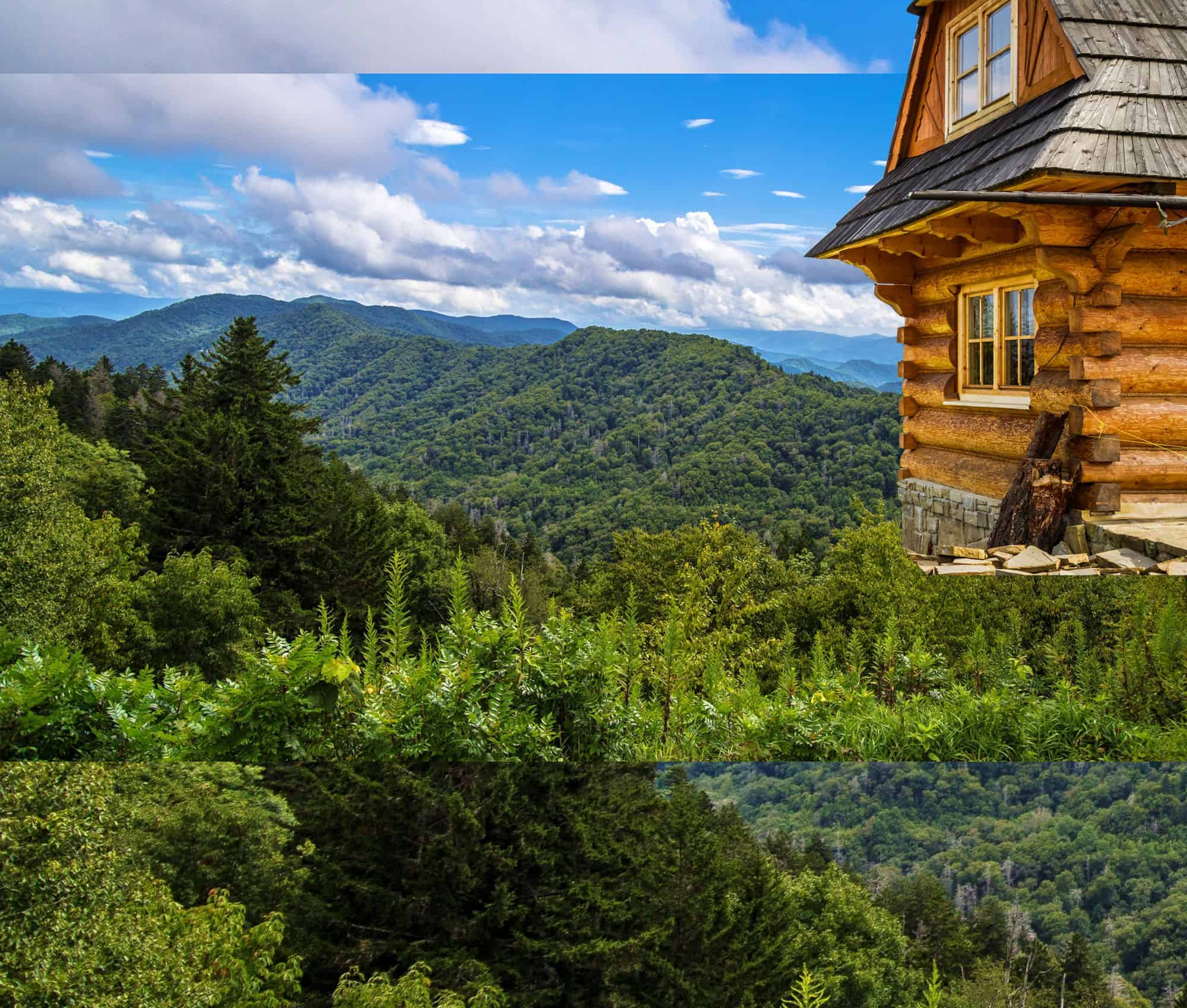 Smoky mountain cabin rentals in gatlinburg pigeon forge for Smoky mountain nc cabin rentals