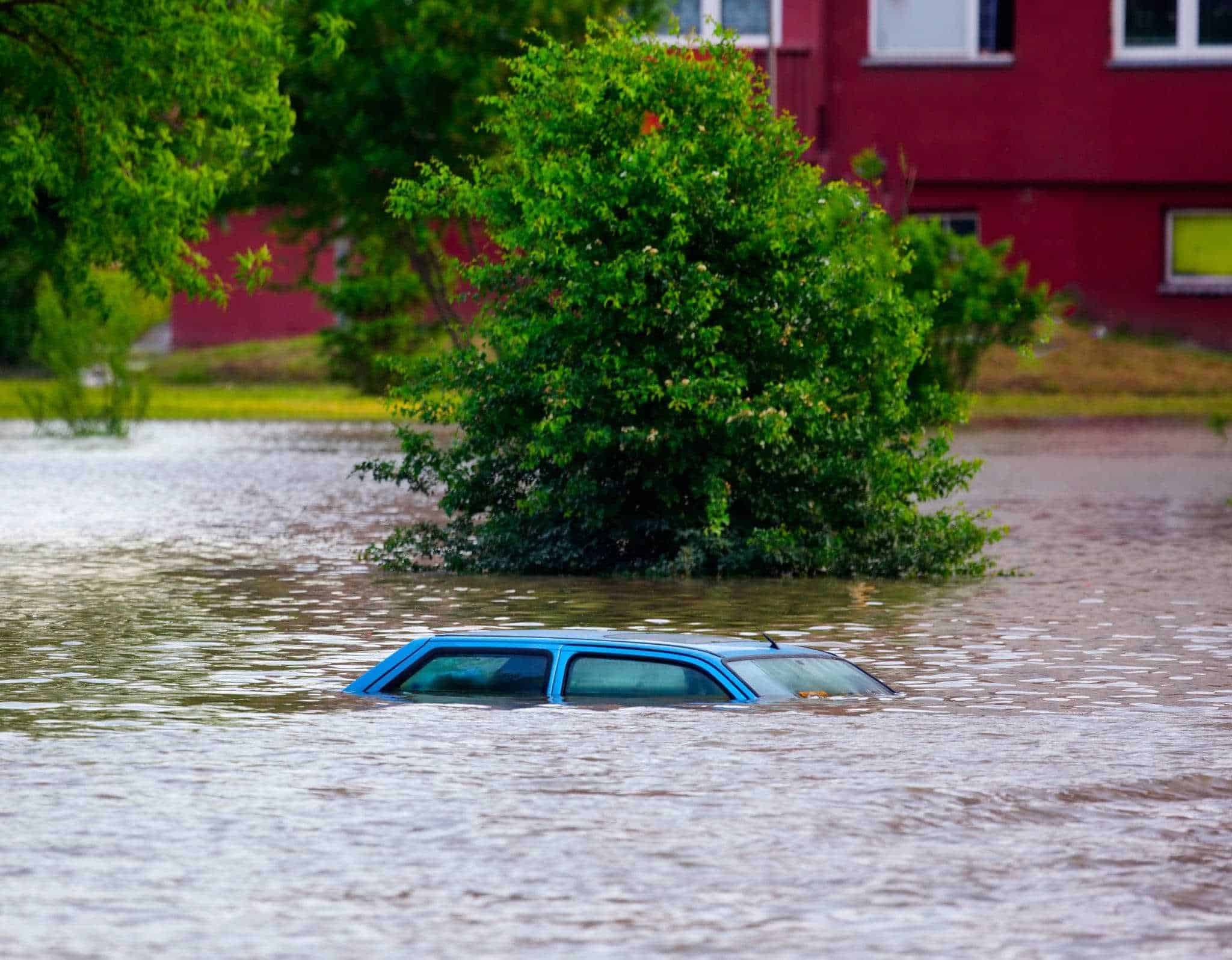 Heavy Floods Wash Through The Great Smoky Mountains
