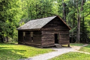 The Little Greenbrier School in the Great Smoky Mountains