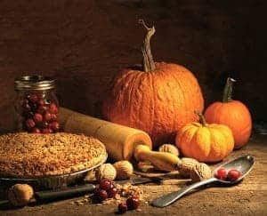 Fall foods, pumpkin, pie