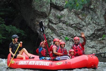 Save 30% - Smoky Mountain Outdoors - White Water Rafting