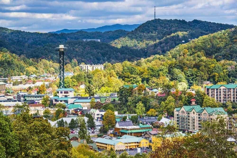 An incredible photo of the best time to visit Gatlinburg TN.