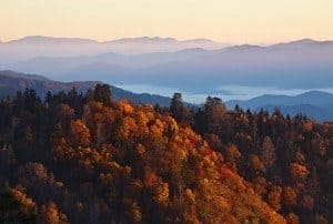 Magnificent fall foliage make autumn a strong contender for the best time to visit Gatlinburg TN.