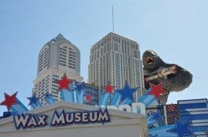 The Hollywood Wax Museum, one of the best indoor things to do in Pigeon Forge.