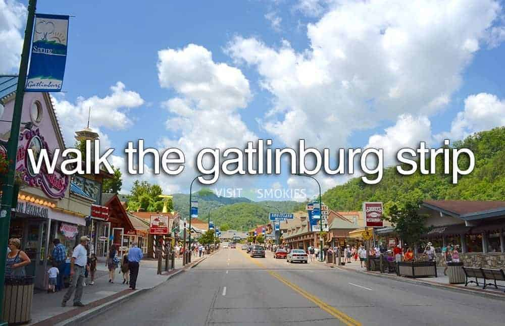 view of downotwn Gatlinburg