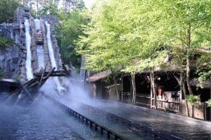 Water Ride in Dollywood