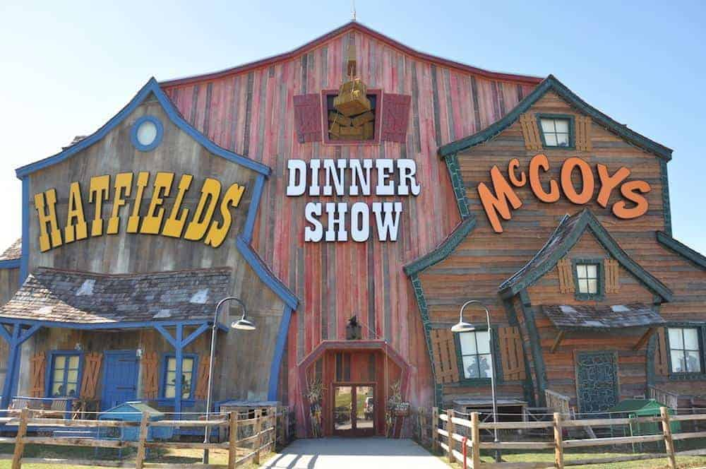 A photo of the Hatfiled & McCoy Dinner Show in Pigeon Forge/