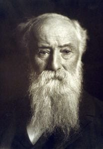 A photograph of John Burroughs, the American naturalist