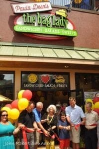 Ribbon Cutting for The Bag Lady at The Island in Pigeon Forge