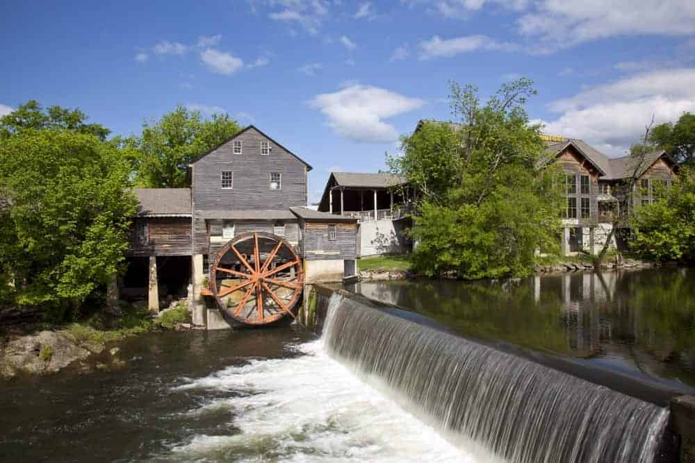 Scenic photo of The Old Mill in Pigeon Forge.