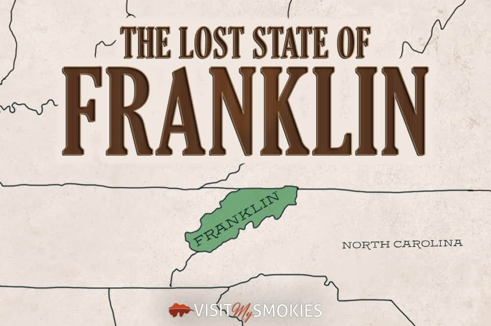 Map of the Lost State of Franklin.