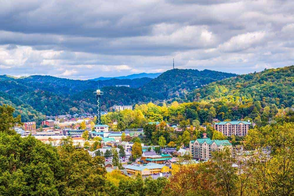 overlook of things to do in gatlinburg tn