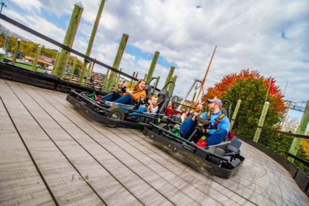 The Track Smoky Mountains Amusement Park