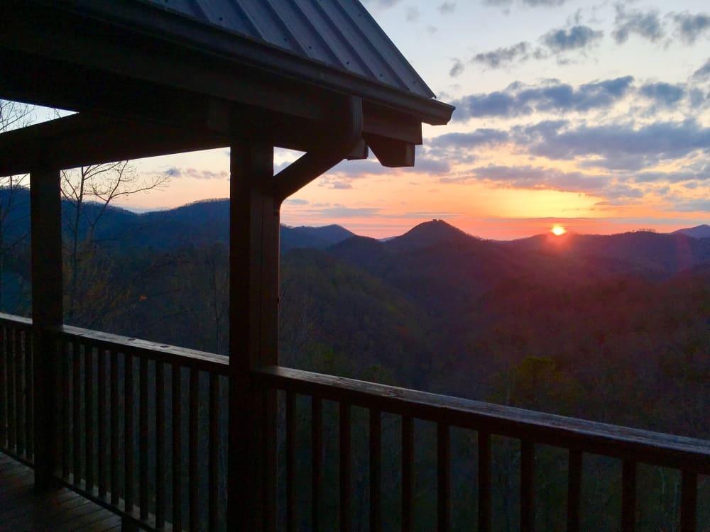 Amazing Grace Log Cabin