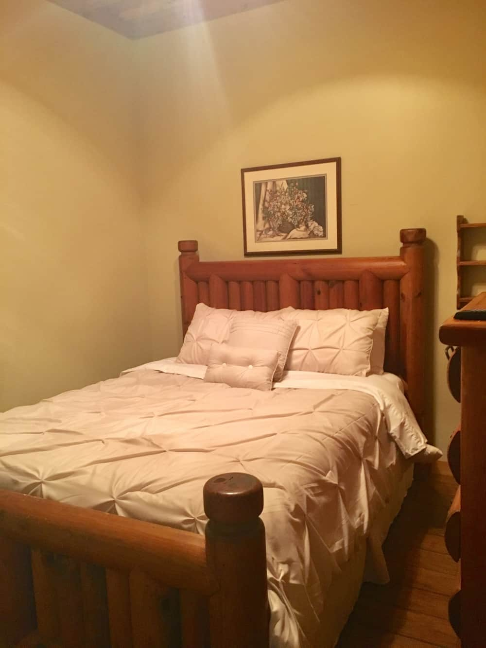 Room Downstairs with queen Bed