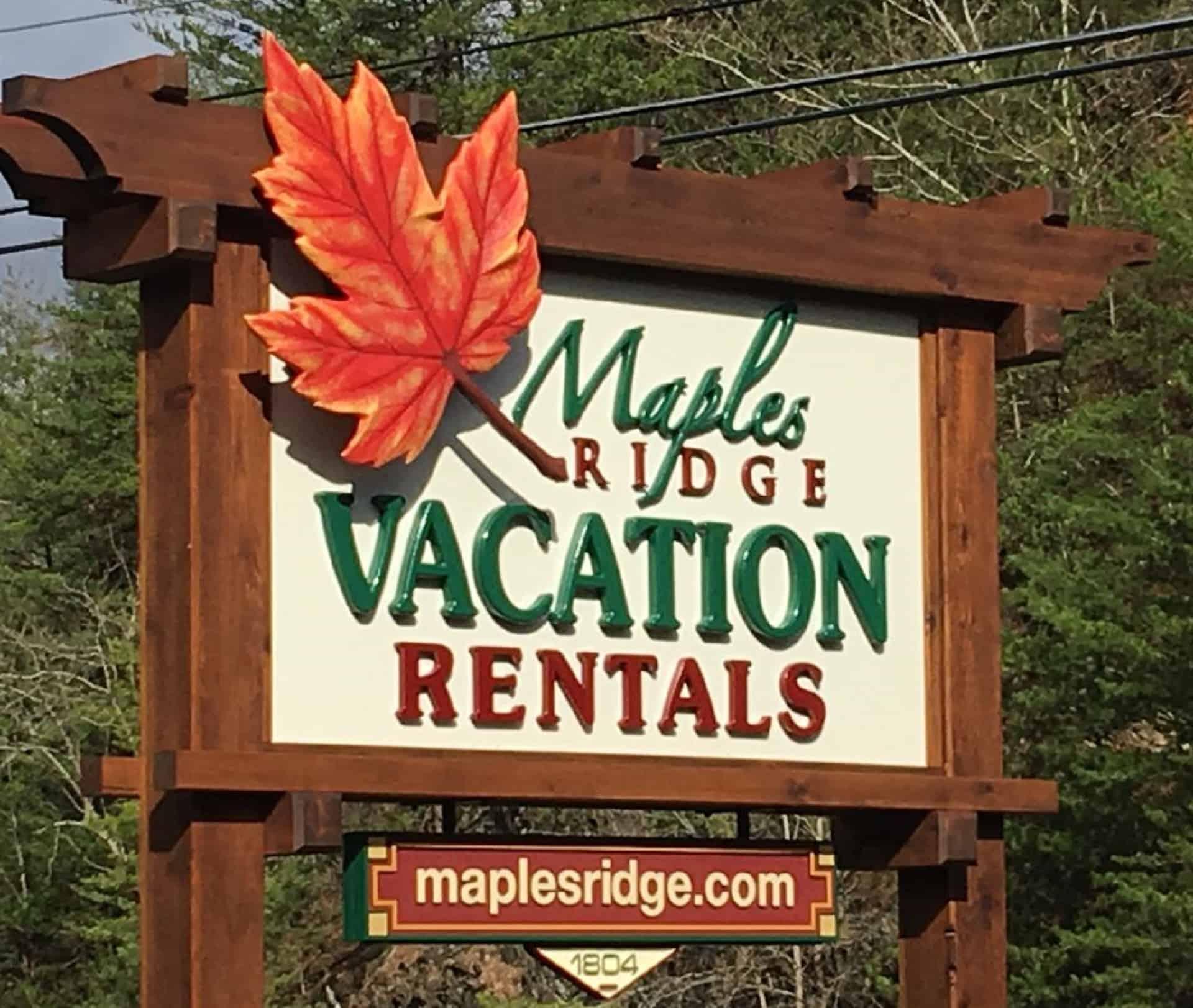 Maples Ridge Vacation Rentals
