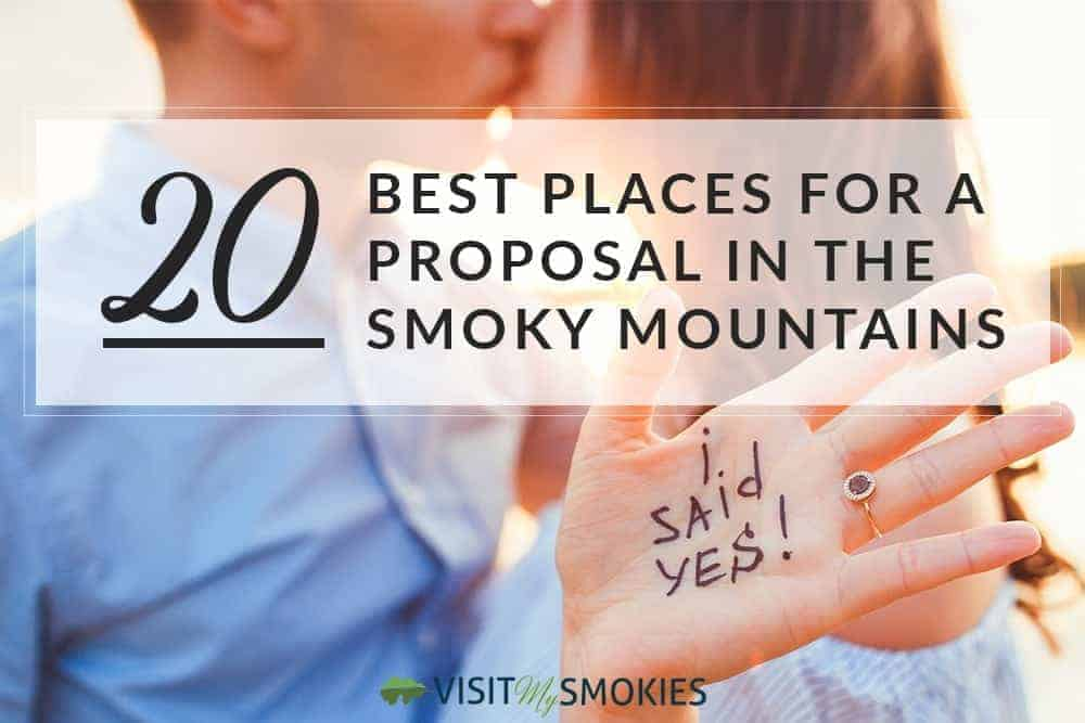 proposal in the smoky mountains