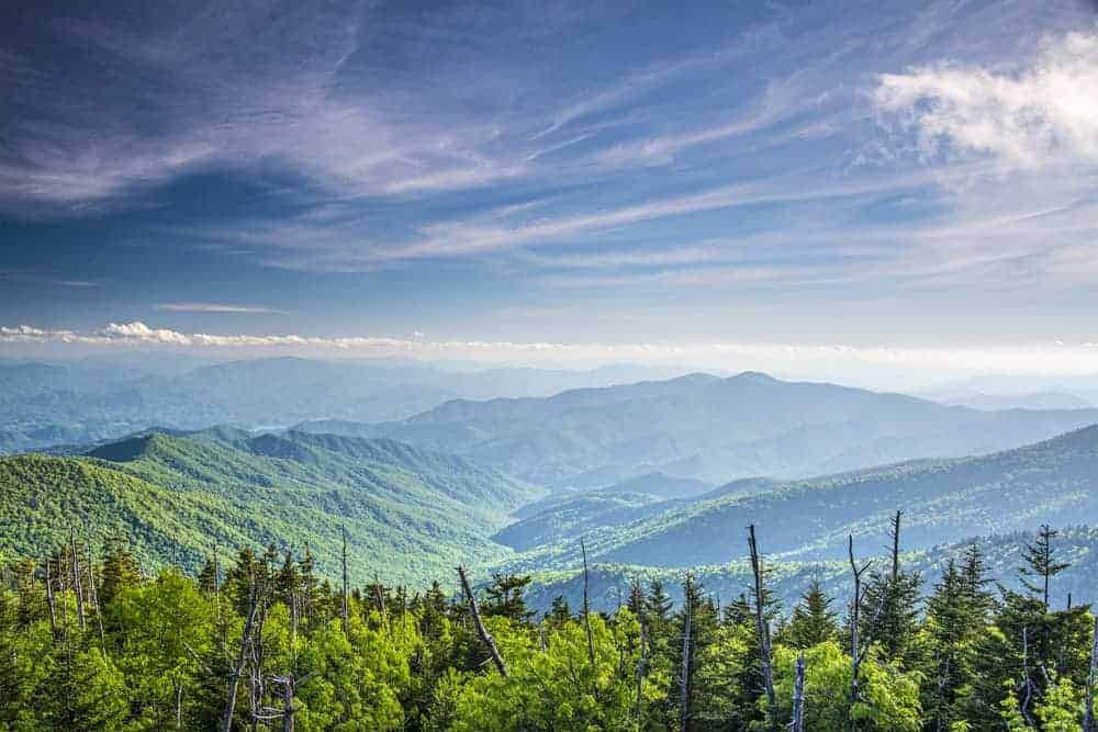 photo of the great smoky mountains