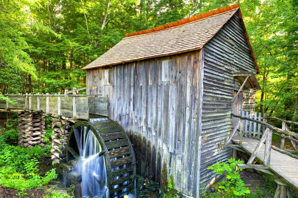John P. Cable Mill in Cades Cove