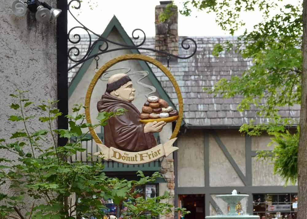 Donut Friar in Gatlinburg
