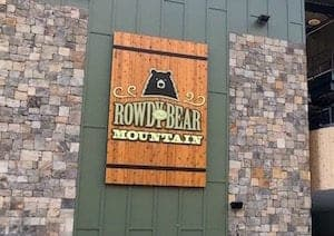 Rowdy Bear Mountain in Gatlinburg