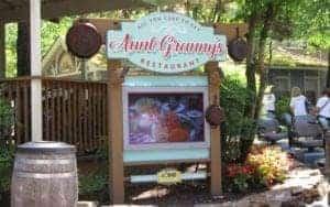 Aunt Granny's restaurant at dollywood