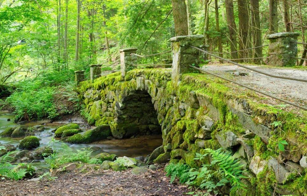 troll bridge little river trail elkmont