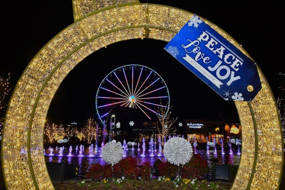 The Island in Pigeon Forge at Winterfest