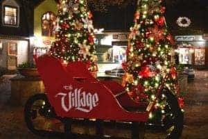 the village in gatlinburg at christmas
