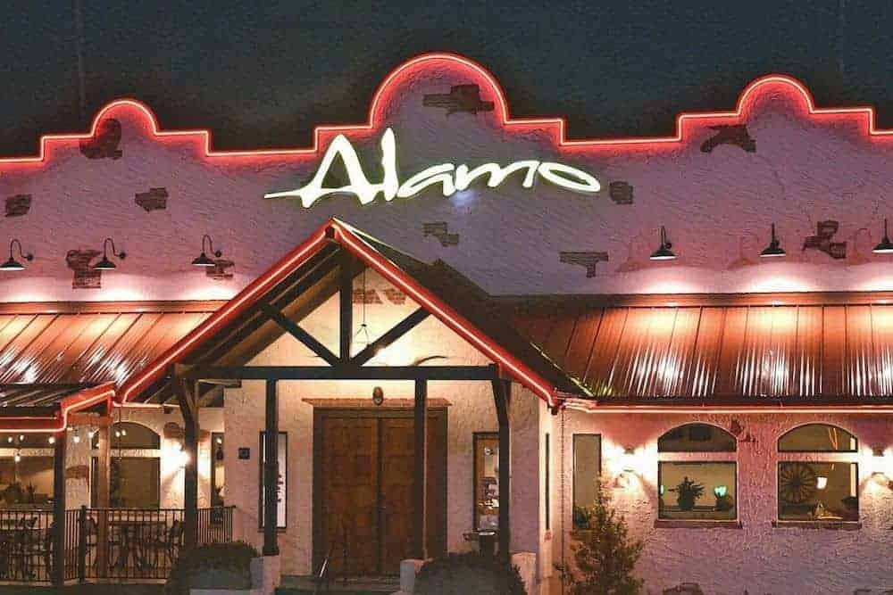 Alamo Steakhouse Restaurant Gatlinburg TN