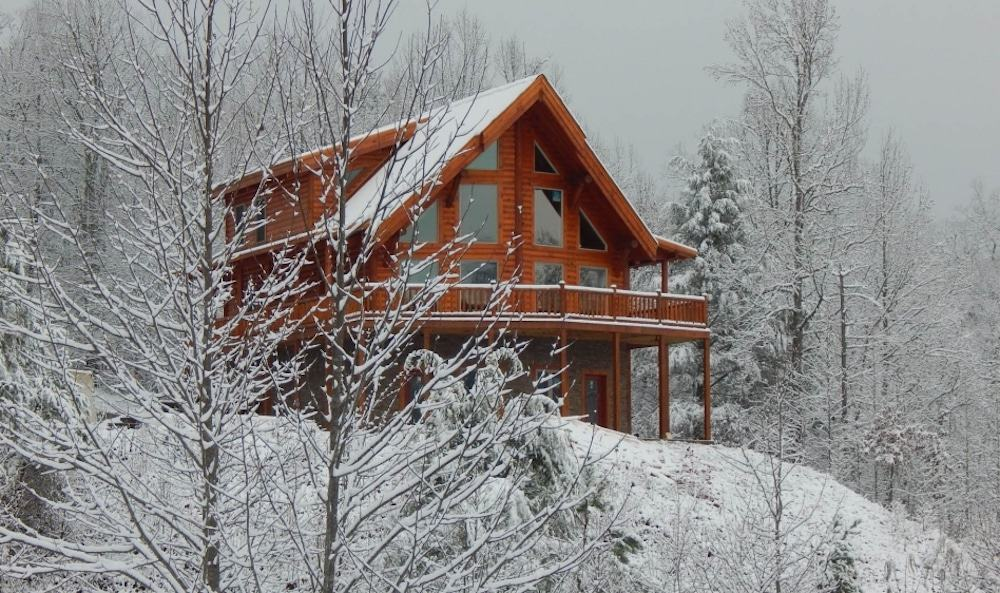 cabin rental in Gatlinburg TN during winter