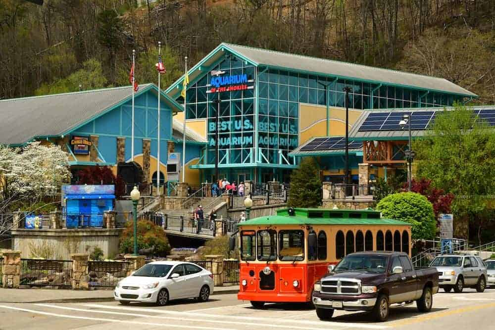 Ripley's Aquarium of the Smokies in Gatlinburg