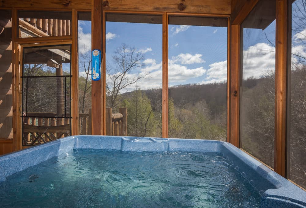 Relax  in the Ahhh-Hot Tub