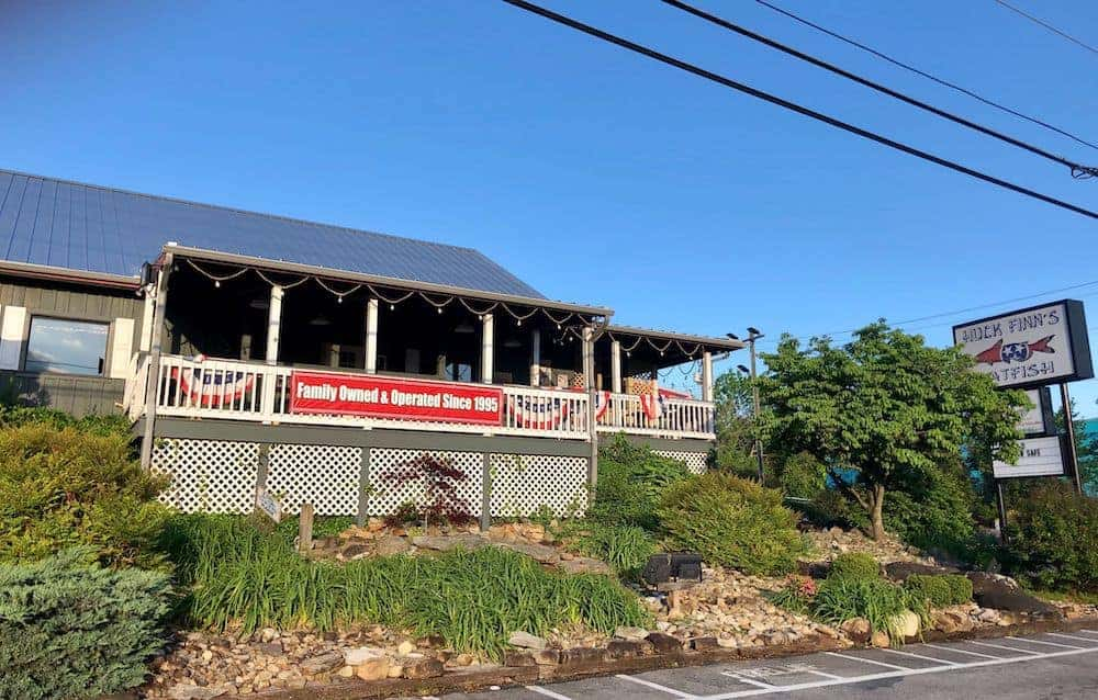 Huck Finn's Catfish in Pigeon Forge