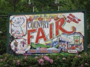 country fair sign dollywood