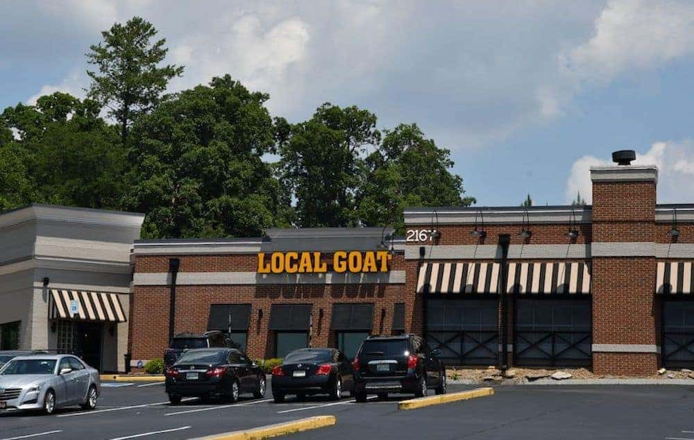 Local Goat restaurant in Pigeon Forge