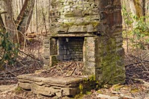 chimney in the smoky mountains